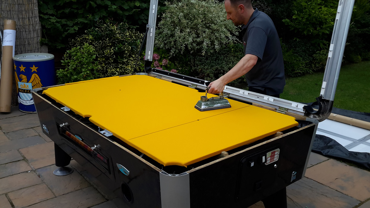 Sam Leisure Pool Table Recover by IQ Pool Tables Photo 87