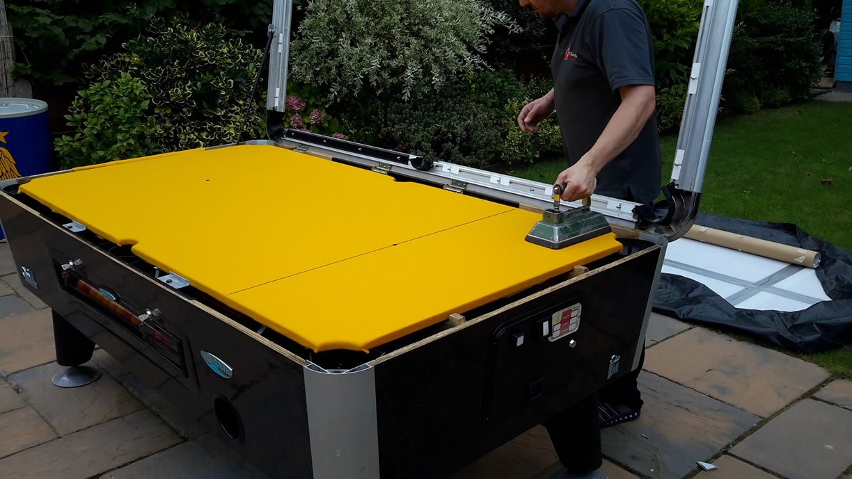Sam Leisure Pool Table Recover by IQ Pool Tables Photo 88