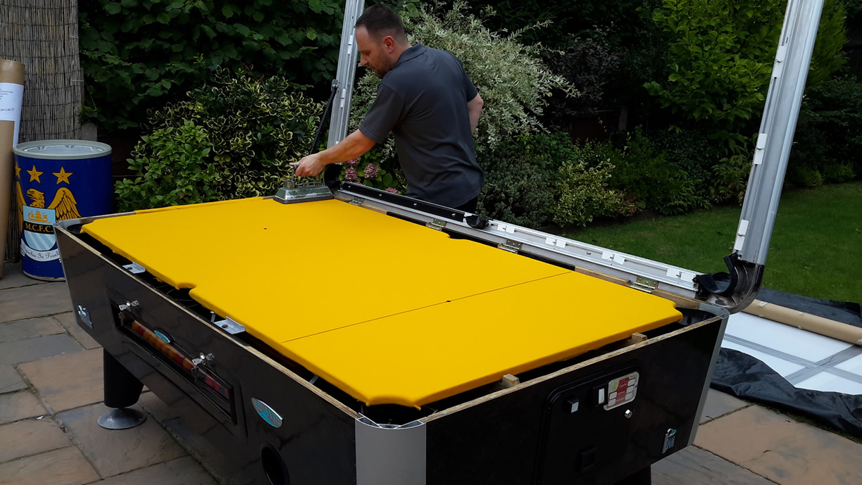 Sam Leisure Pool Table Recover by IQ Pool Tables Photo 89