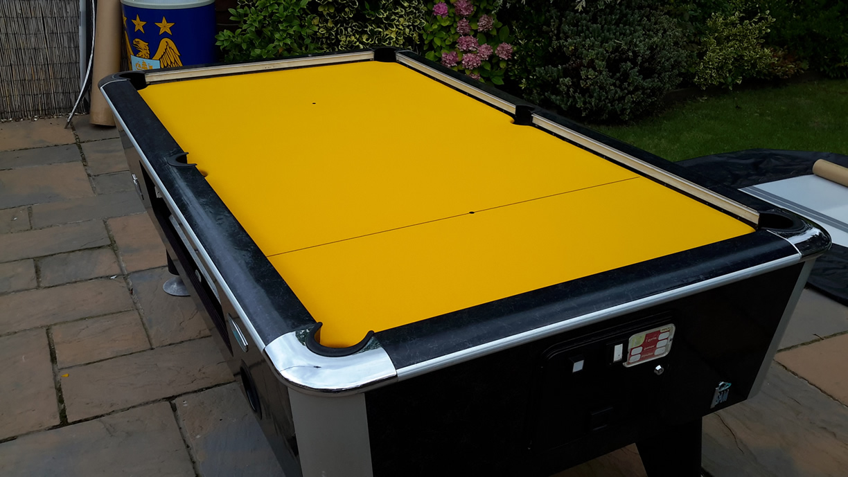 Sam Leisure Pool Table Recover by IQ Pool Tables Photo 105