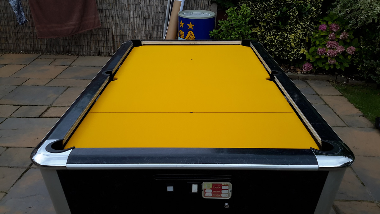 Sam Leisure Pool Table Recover by IQ Pool Tables Photo 106