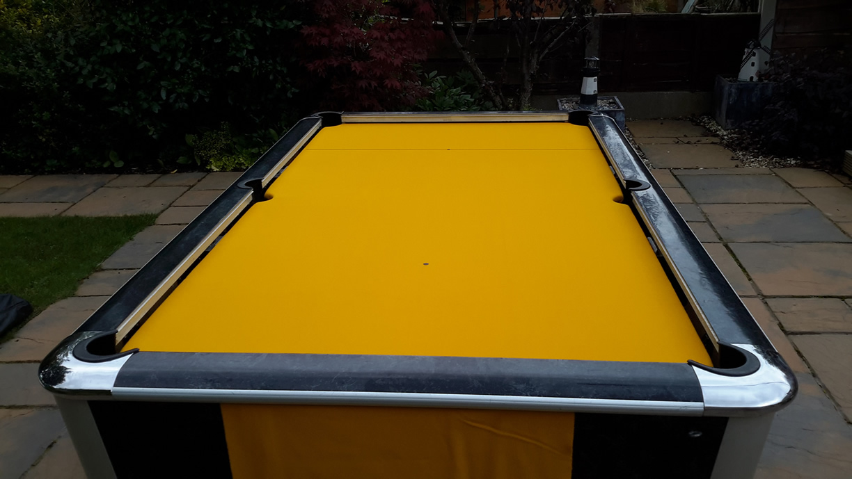 Sam Leisure Pool Table Recover by IQ Pool Tables Photo 107