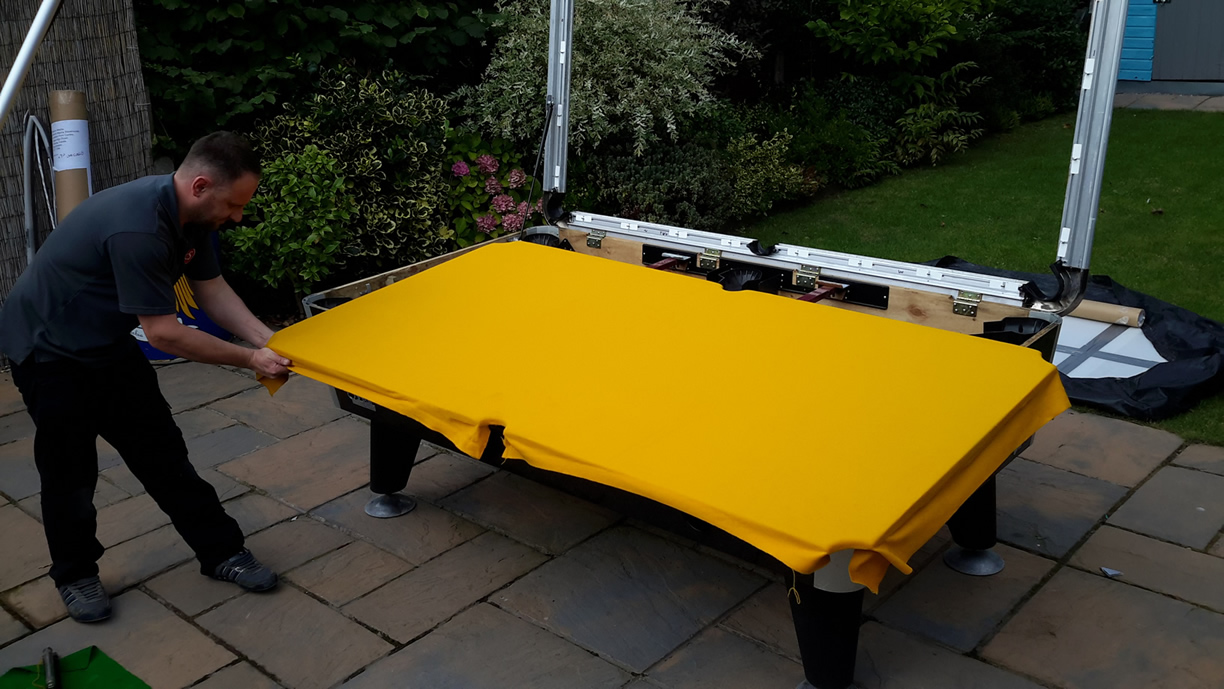 Sam Leisure Pool Table Recover by IQ Pool Tables Photo 76