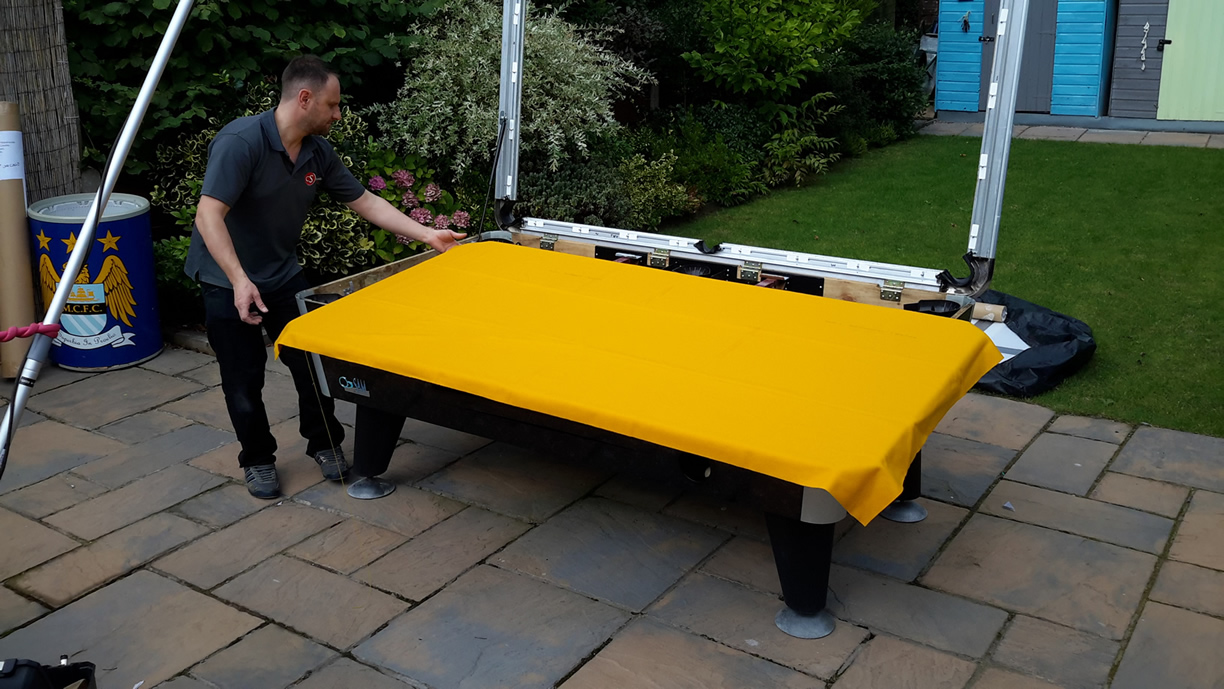 Sam Leisure Pool Table Recover by IQ Pool Tables 66
