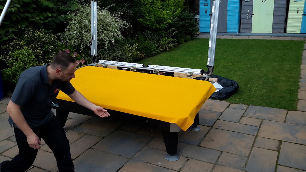 Sam Leisure Pool Table Recover by IQ Pool Tables Photo 67