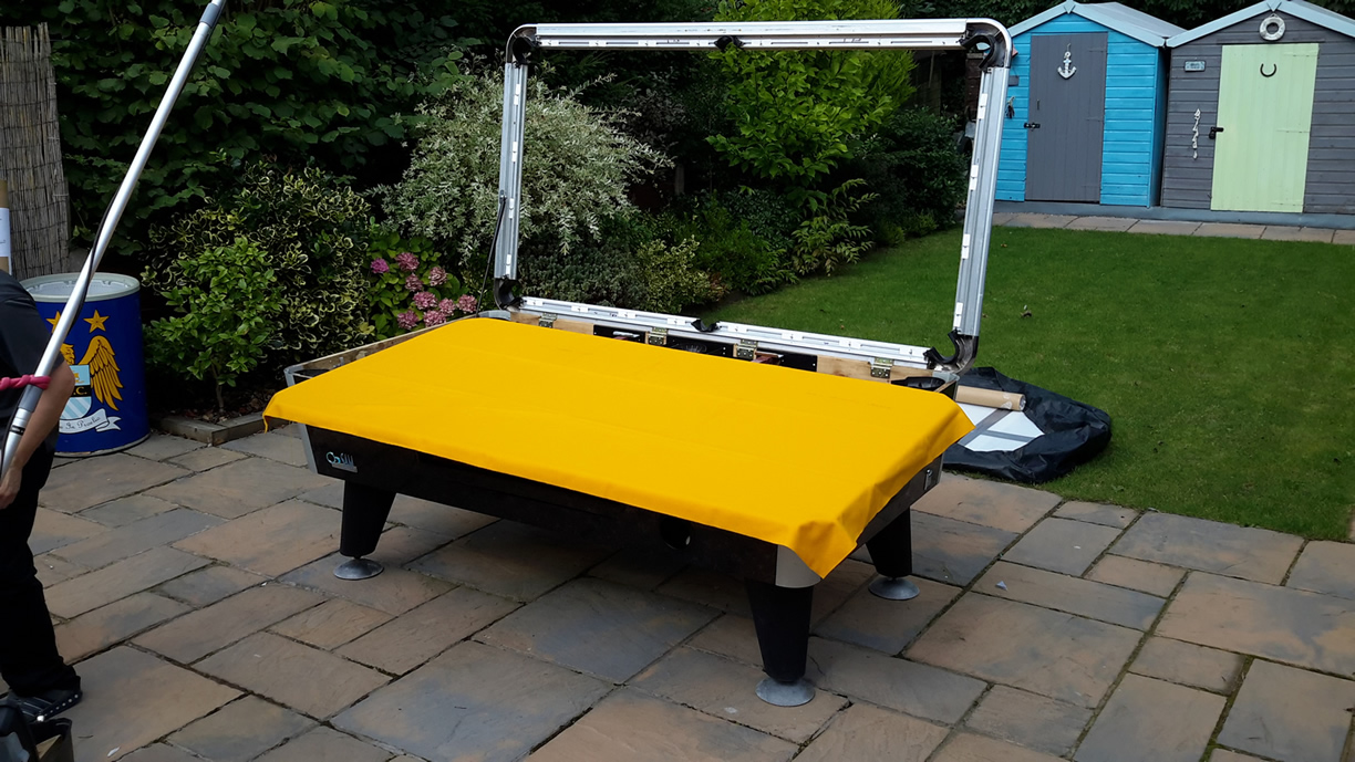 Sam Leisure Pool Table Recover by IQ Pool Tables Photo 68