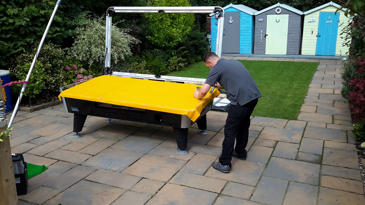 Sam Leisure Pool Table Recover by IQ Pool Tables Photo 69