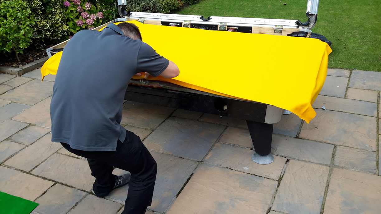 Sam Leisure Pool Table Recover by IQ Pool Tables Photo 72