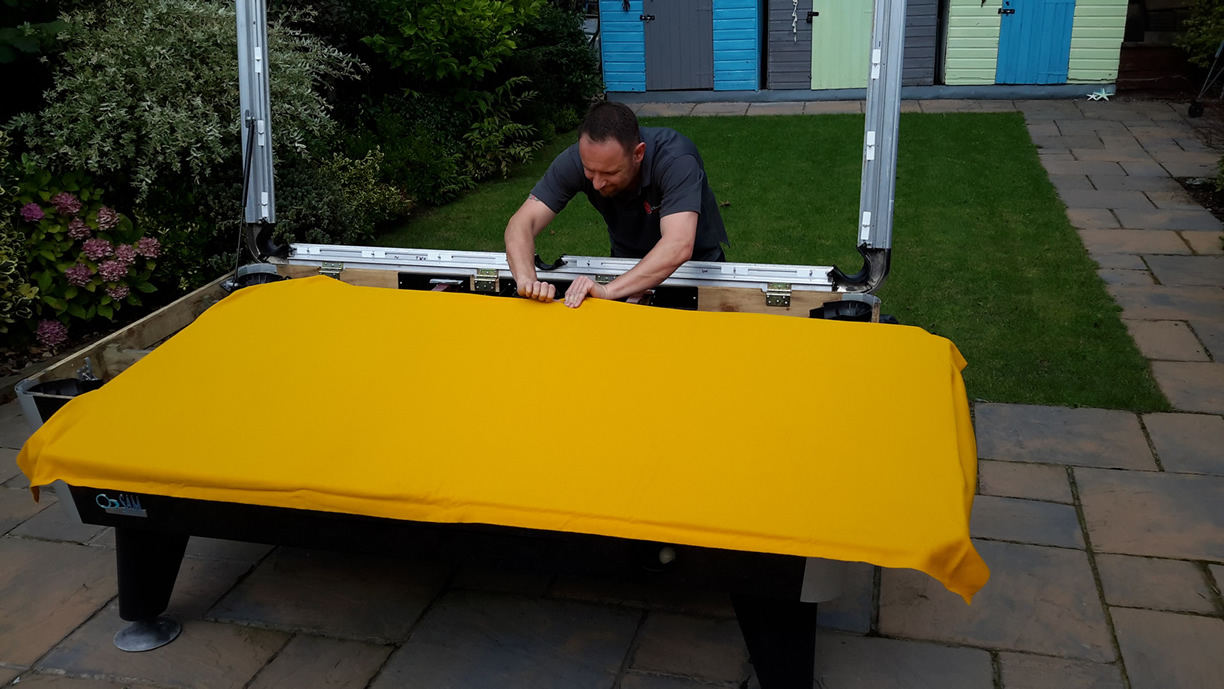 Sam Leisure Pool Table Recover by IQ Pool Tables Photo 73