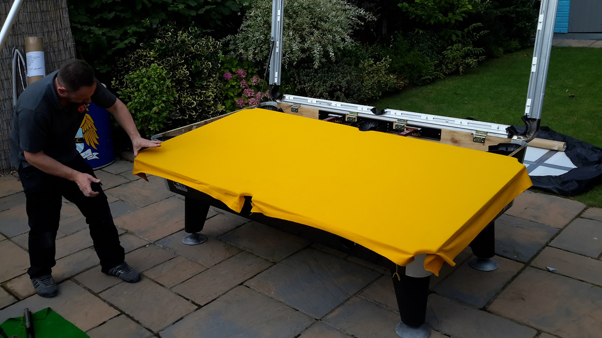 Sam Leisure Pool Table Recover by IQ Pool Tables Photo 77