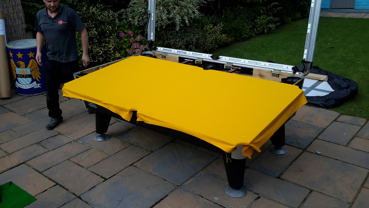 Sam Leisure Pool Table Recover by IQ Pool Tables Photo 75