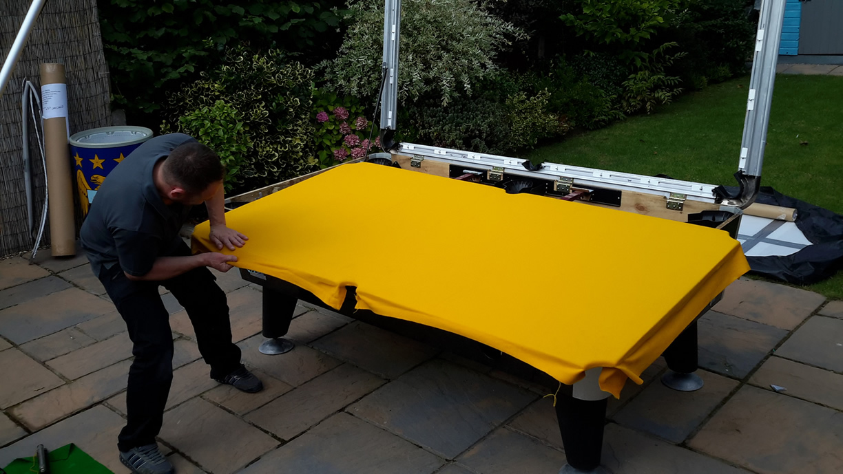 Sam Leisure Pool Table Recover by IQ Pool Tables  Photo 78