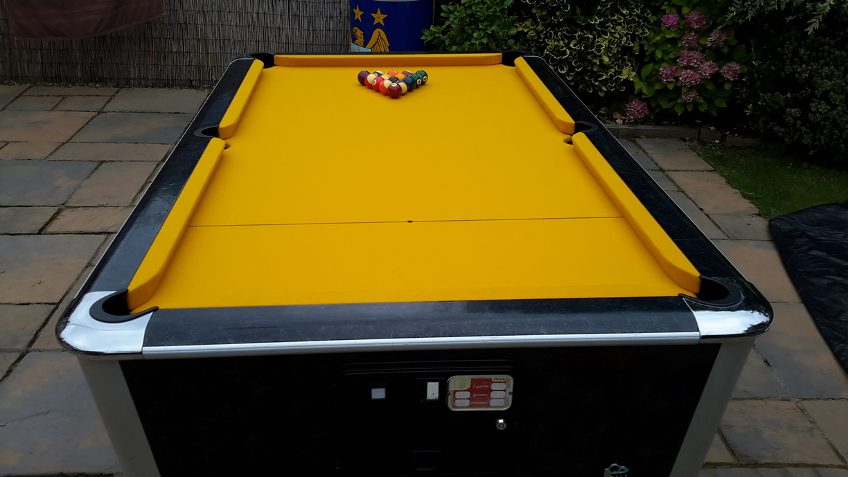 Sam Leisure Pool Table Recover by IQ Pool Tables Photo 108