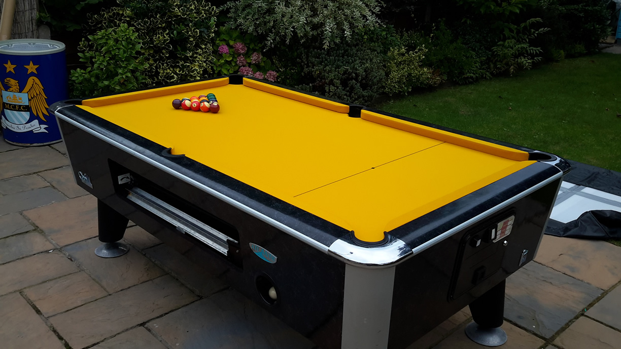 Sam Leisure Pool Table Recover by IQ Pool Tables Photo 109