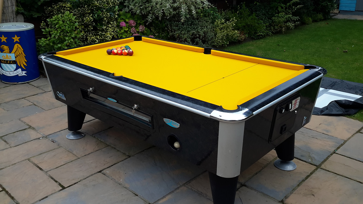 Sam Leisure Pool Table Recover by IQ Pool Tables Photo 110