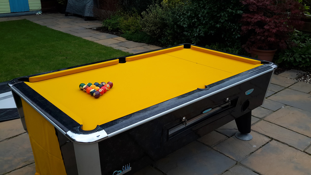 Sam Leisure Pool Table Recover by IQ Pool Tables Photo 111