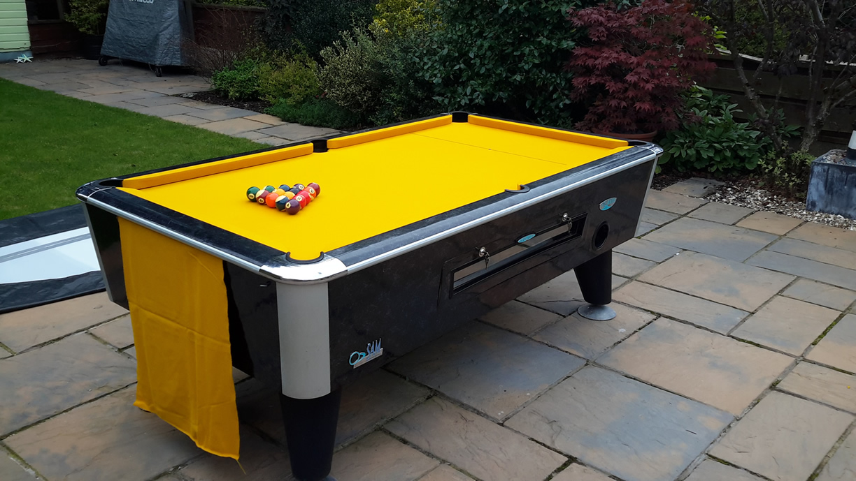 Sam Leisure Pool Table Recover by IQ Pool Tables Photo 112