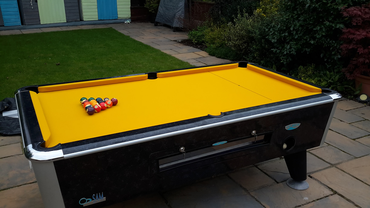 Sam Leisure Pool Table Recover by IQ Pool Tables Photo 113