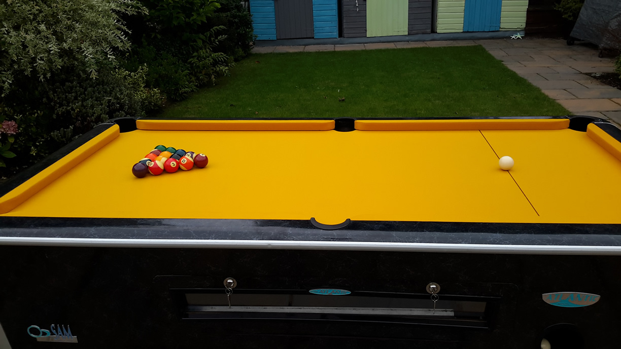 Sam Leisure Pool Table Recover by IQ Pool Tables Photo 115