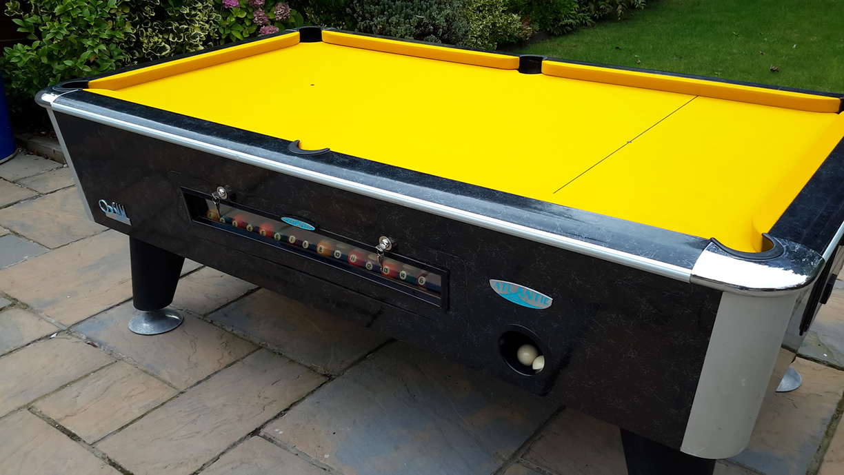 Sam Leisure Pool Table Recover by IQ Pool Tables Photo 102