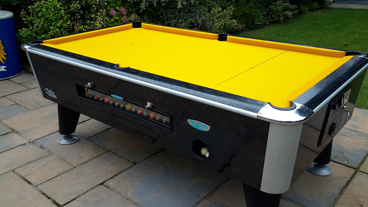 Sam Leisure Pool Table Recover by IQ Pool Tables Photo 103