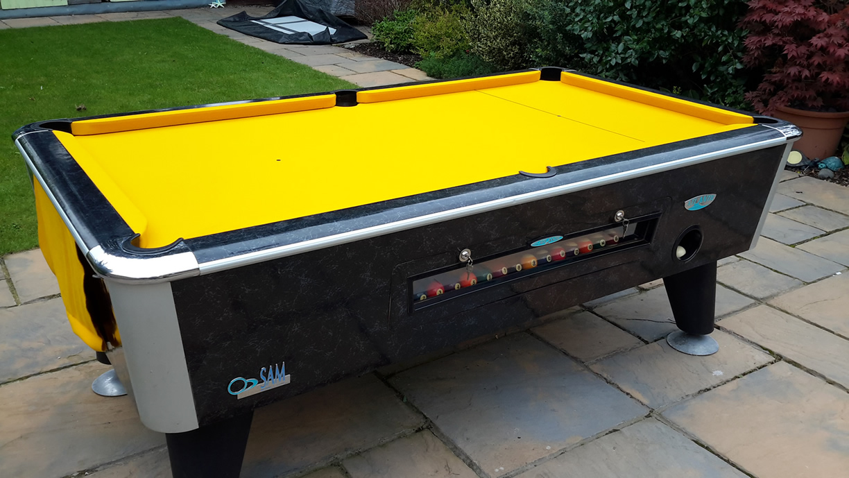 Sam Leisure Pool Table Recover by IQ Pool Tables Photo 104