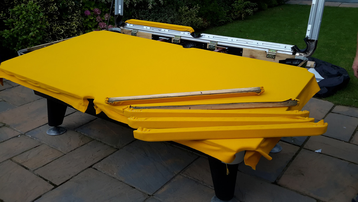 Sam Leisure Pool Table Recover by IQ Pool Tables Photo 81