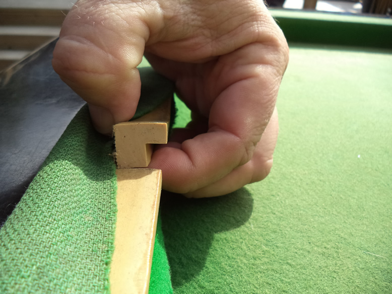 Sam Leisure Pool Table Recover by IQ Pool Tables Photo 13