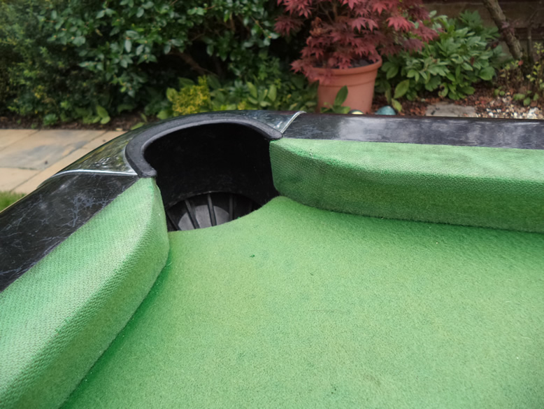 Sam Leisure Pool Table Recover by IQ Pool Tables Photo 15
