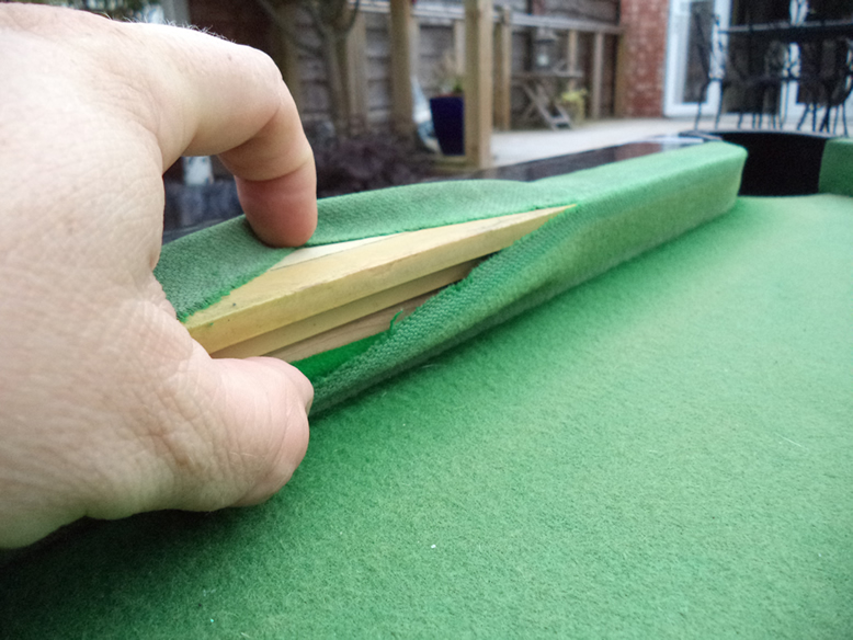Sam Leisure Pool Table Recover by IQ Pool Tables Photo 21