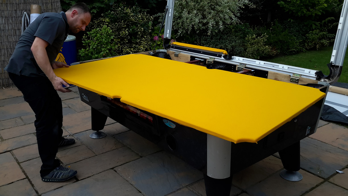 Sam Leisure Pool Table Recover by IQ Pool Tables Photo 82