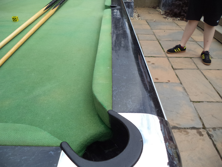 Sam Leisure Pool Table Recover by IQ Pool Tables Photo 2
