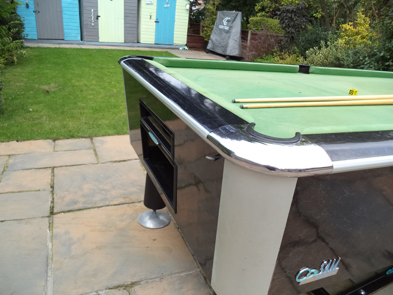 Sam Leisure Pool Table Recover by IQ Pool Tables Photo 3