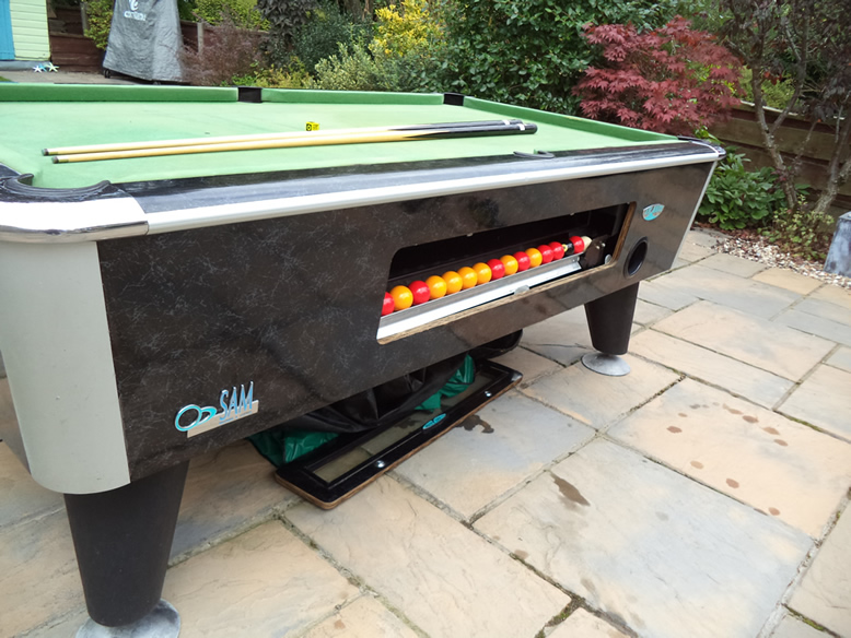 Sam Leisure Pool Table Recover by IQ Pool Tables Photo 4