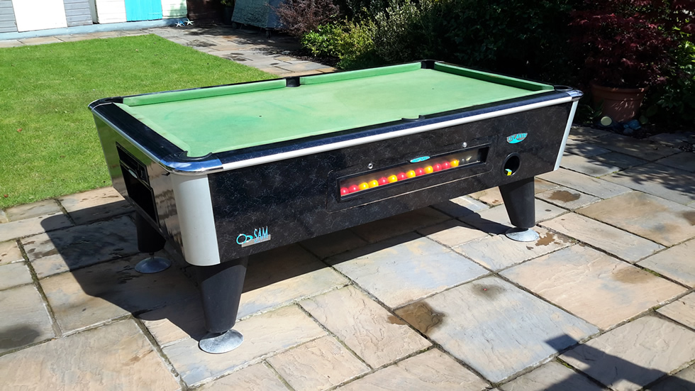 Sam Leisure Pool Table Recover by IQ Pool Tables Photo 1