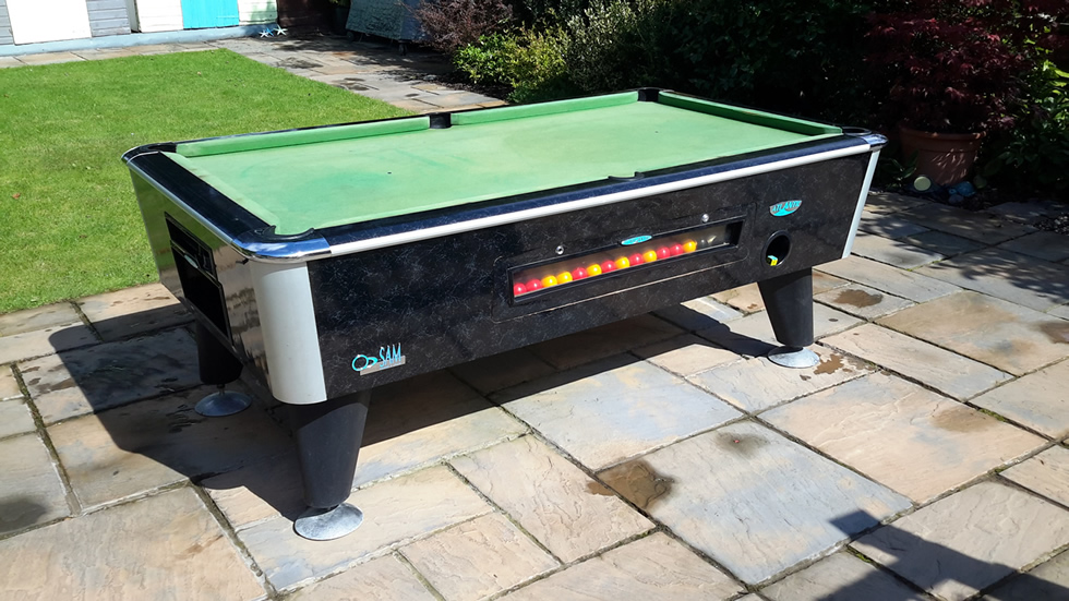 Sam Leisure Pool Table Recover by IQ Pool Tables Photo 6