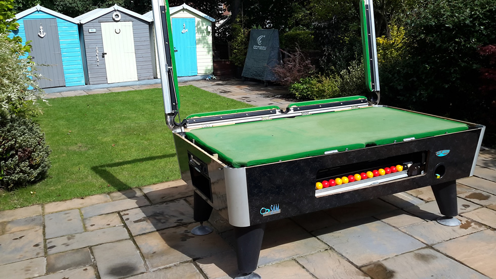 Sam Leisure Pool Table Recover by IQ Pool Tables Photo 25