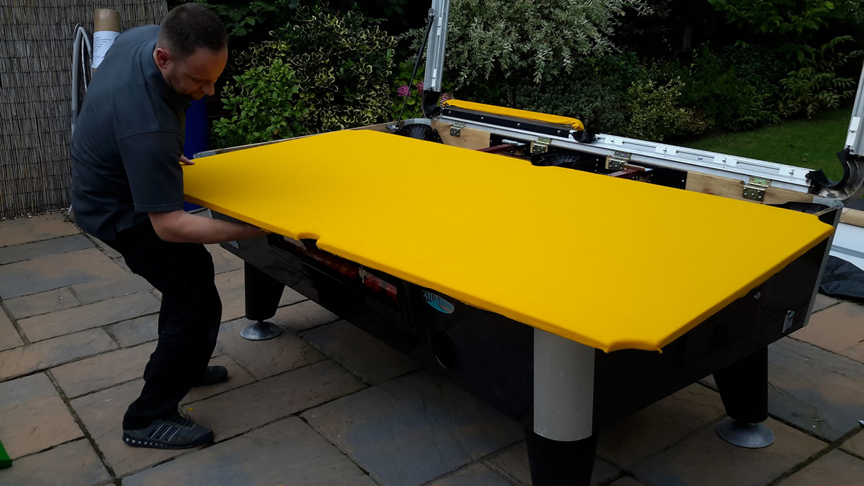 Sam Leisure Pool Table Recover by IQ Pool Tables Photo 83