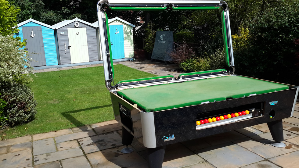 Sam Leisure Pool Table Recover by IQ Pool Tables Photo 26