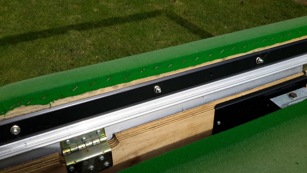 Sam Leisure Pool Table Recover by IQ Pool Tables Photo 30