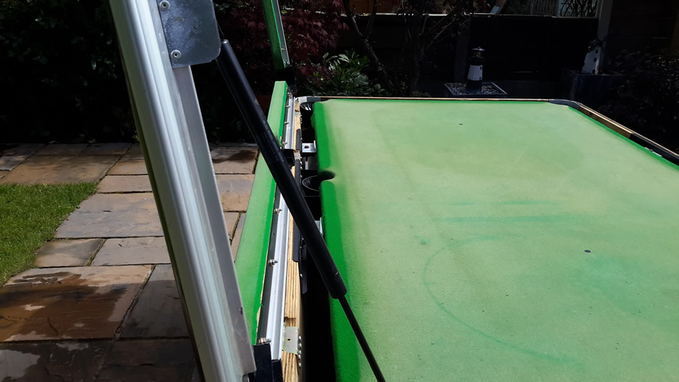 Sam Leisure Pool Table Recover by IQ Pool Tables Photo 31