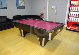 Recent Recover of a Pool Table in Student Accommodation